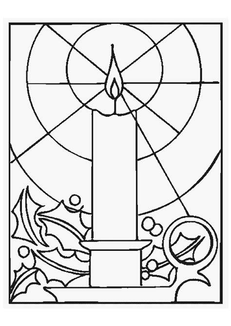 Kaarsen In De Nacht Kleurplaat by Kleurplaat Kerst Kaarsen 4231 Kleurplaten