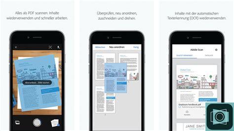 adobe scan neue scan app mit gratis ocr computer bild