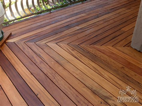 Tiger Wood Decking by Tigerwood Decking Pictures Tiger Wood Deck Photos