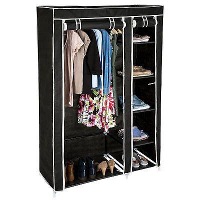 kleiderschrank aus stoff vicco kleiderschrank offen begehbar regal kleiderst 228 nder schrank wei 223 garderobe eur 61 90