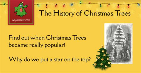 The History Of Christmas Trees-christmas Customs And