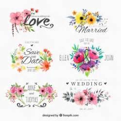 magenta mariage flores acuarela fotos y vectores gratis