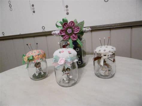 que faire avec des pots en verre des petits pots de yaourt en verre transform 233 s en pique aiguilles les p tites mains bricoleuses