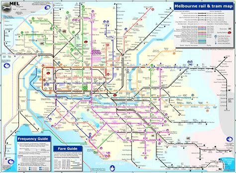 melbourne map travelsfinderscom
