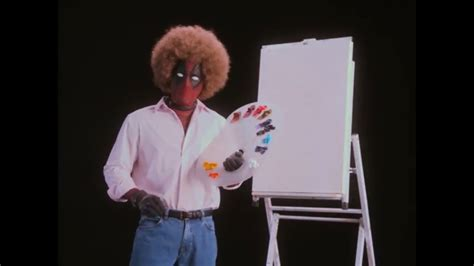 Deadpool Creator Rob Liefeld Draws Deadpool As Bob Ross