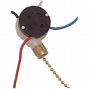 Atron speed ceiling fan switch with pull chain