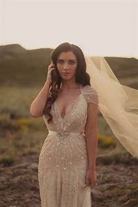 Champagne wedding dress ivory wedding gown shimmering for Champagne gold wedding dress