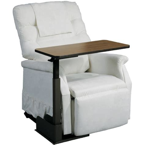 drive deluxe seat lift chair overbed table at