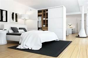 chambre avec dressing 20 interieurs elegants et modernes With chambre bébé design avec robe fleurie noire