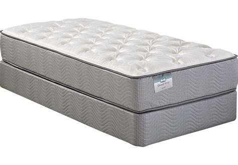 Beautysleep Angel Island Low Profile Twin Mattress Set