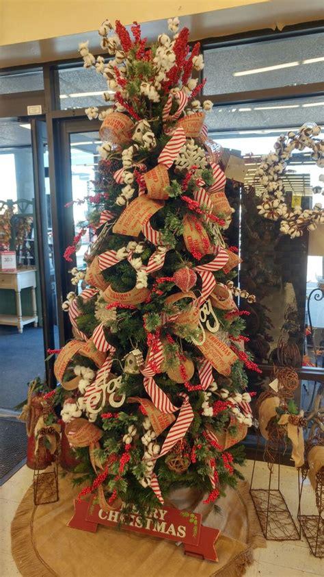 farmhouse christmas tree  hobby lobby hobby lobby