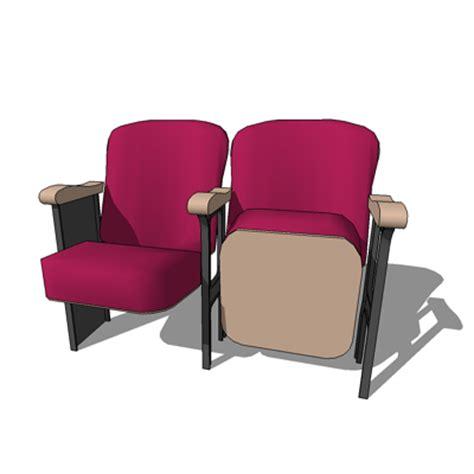 theatre seat 3d model formfonts 3d models textures