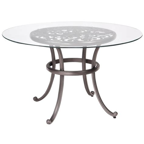 woodard new orleans 48 inch umbrella table with