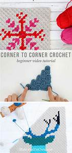 How To Corner To Corner Crochet Video Tutorial All The