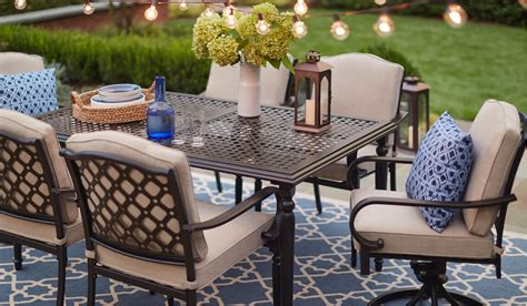 Restaurant Patio Furniture by Outdoor Dining Furniture The Home Depot