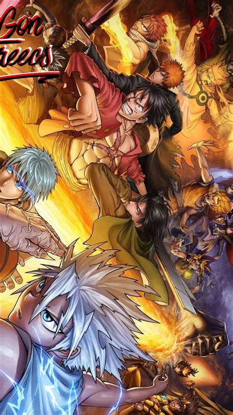 Anime Crossover Wallpaper - all anime crossover wallpaper by yassiroxx 3c free on