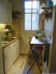 amenagement petite cuisine gain de place transformer With attractive meubles pour petit appartement 5 amenagement de cuisine