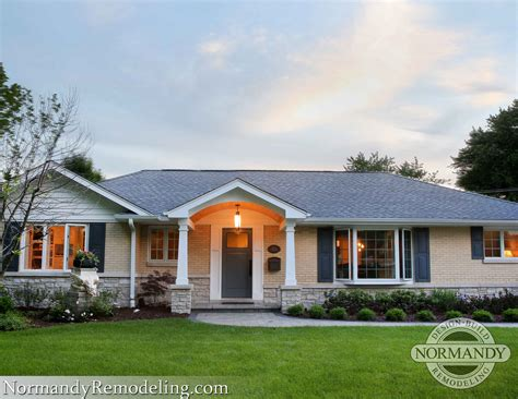exterior paint ideas for ranch style houses cottage grey