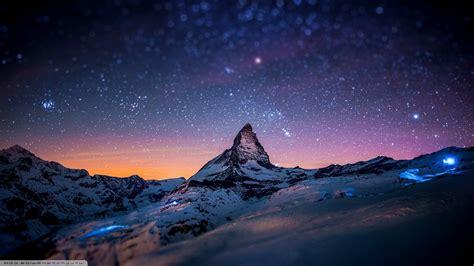 horizon stars landscape wallpapers hd desktop