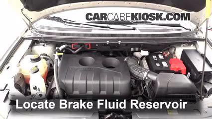 ford edge brake fluid level check  ford