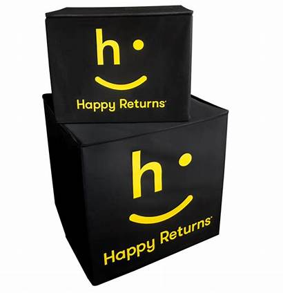 Returns Happy Customer Reusables Eliminate Cardboard Uses