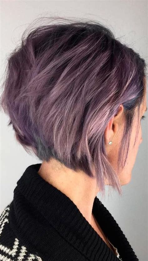 short choppy layered haircuts messy bob hairstyles trends autumnwinter