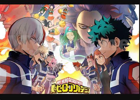 judul anime comedy school boku no academia season 2 complete sub indo myuunime