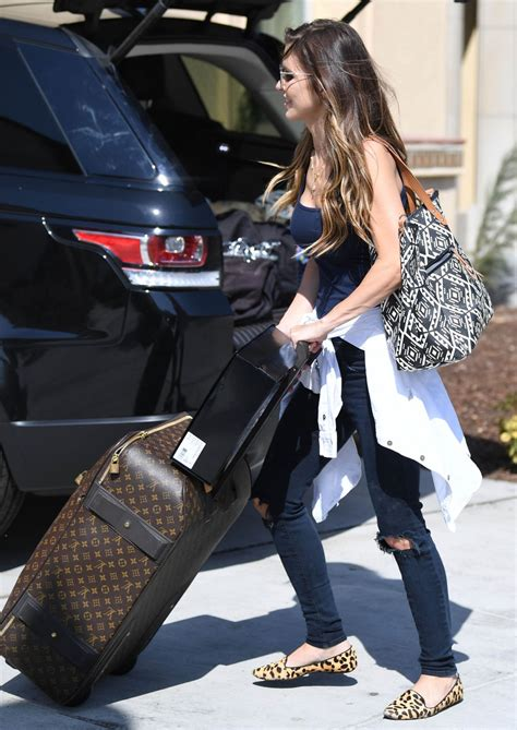 Audrina Patridge Returns Home Los Angeles