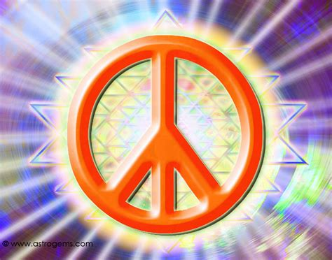 Cool Peace Sign Wallpaper