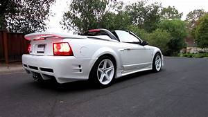 99 Ford Mustang SVT Cobra Convertible - Supercharged - Saleen S351 - YouTube