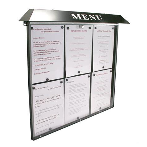 porte menu restaurant exterieur menus et services porte menu ext 233 rieur normandie