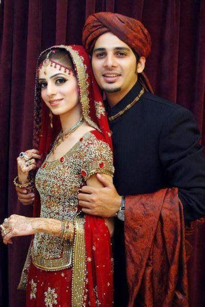 beautiful pakistani bridal couples wedding dresses  hd