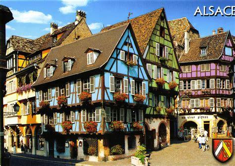 Postcard Exchange France Colmar