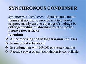 Reactive Power Consumption In Modern Power System