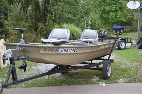 Jon Boats For Sale Knoxville Tn by Quot Jon Boat Quot Boat Listings In Tn