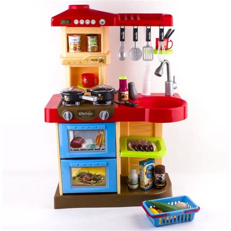 play kitchen accessories deao children play kitchen set with play food and 4942