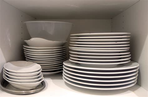cooking dishes free image dishes in cupboard in the kitchen libreshot free stock photos