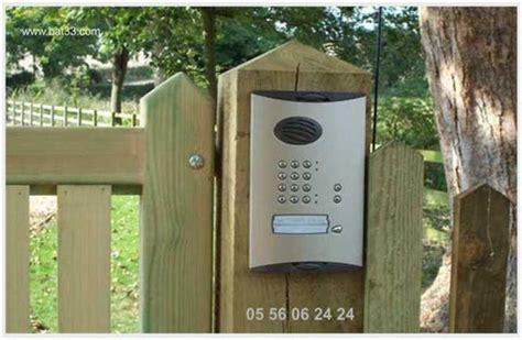 interphone de portail interphone de portail 224 bordeaux