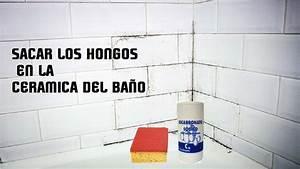 COMO SACAR HONGOS DEL BAÑO - MOHO - YouTube