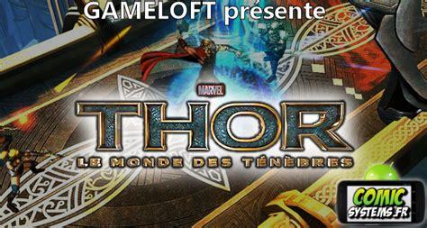 thor gameloft telechargement