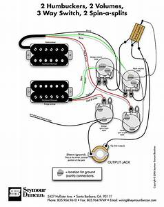 Gibson Pichup With Seymour Duncan Wiring Diagram