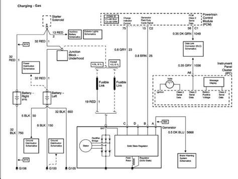 Chevy Truck Wiring Diagram With One Wire Alternator