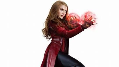 Scarlet Witch Olsen Elizabeth Marvel Avengers 4k