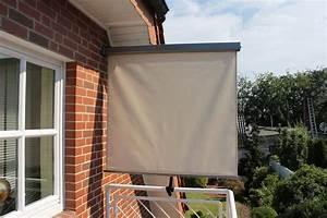 Balkon Sichtschutz Zum Ausziehen : balkonmarkise bxh 120 x 200 cm naturfarben otto ~ Markanthonyermac.com Haus und Dekorationen