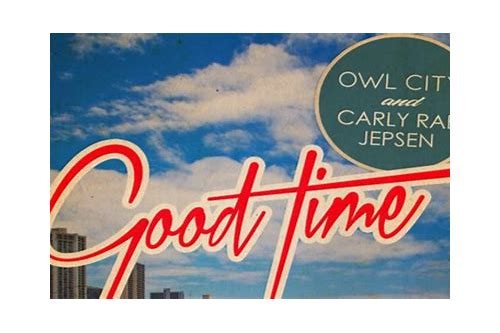 good time mp3 download owl city