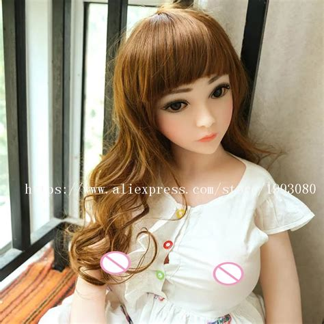 buy cm real silicone sex dolls robot japanese mini anime love doll big