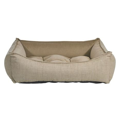 Designed by guido rosati for saba italia, the scoop bed is a sophisticated and innovative answer to the demand for combining the sofa function with the bed function. Bowsers Scoop Pet Bed Flax | Bolster dog bed, Dog bed ...