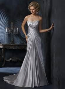 silver wedding dresses plus size the sugar antelope i weddings