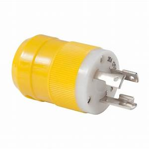 Marinco 30 Amp Male Shore Power Plug