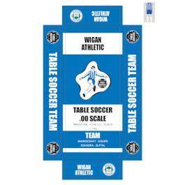 WIGAN ATHLETIC. self adhesive team box labels.